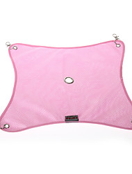 Chat Couchages Animaux de Compagnie Couvertures Portable Rose Velours côtelé