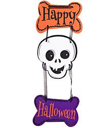 1pc la scène de barre de maison hantée props de halloween citrouilles squelette guirlande décoration fournitures
