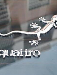 Car Metal Car Stickers Big Gecko To Avoid The Bad Body Stickers