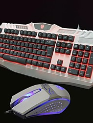 The game keyboard mouse suit back luminous keyboard or Internet cafe for keyboard or suit