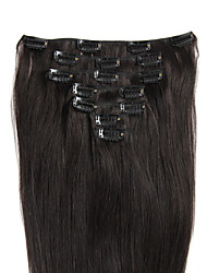 "18"" 4/27 clip in remy human hair extensions"