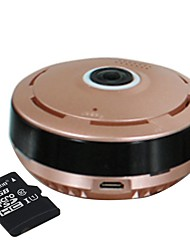 Strongshine® 960P Cylindric Network HD Built in 32GB SD Card 360 Degree Fisheye P2P Wifi IP Camera