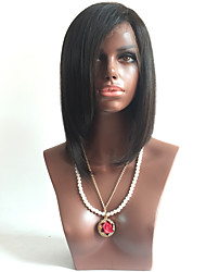 7A Brazilian Virgin Hair Short Bob Lace Wig Glueless Lace Front Human Hair Wigs With Baby Hair For Black Women
