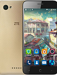 "ZTE Blade A601 5.0 "" Android 5.1 Smartphone 4G (Double SIM Quad Core 8 MP 1GB + 8 GB Doré / Blanc)"