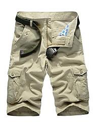 Pantalon Aux femmes Droit / Short Vintage / simple / Punk & Gothique Coton Non Elastique