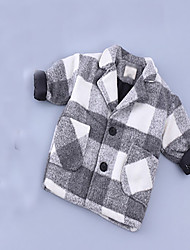 Boy's Casual/Daily Patchwork Suit & BlazerCotton Spring / Fall Black / Green / Gray