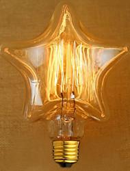 edison geel licht decoratie retro wolfraam lamp lichtbron (e27 40w)