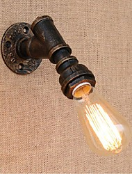 AC 220V-240V 40w e27 bg813 saudade tubulação de água simples luz decorativos de parede lâmpada de parede pequeno