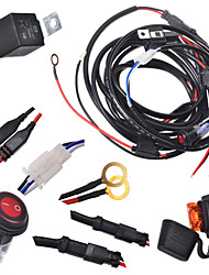 KAWELL 2 Legs Wiring Harness Include Switch Kit Suppot 300W LED work light LED Light Bar Wiring Harness and Switch Kit