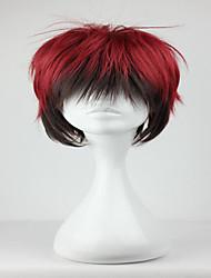 basket kagami taïga de 32cm de l'anime rôle Kuroko short noir homme rouge mélangé cosplay perruque