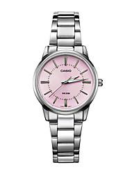 Mulheres Relógio de Moda Quartzo Impermeável Aço Inoxidável Banda Casual Luxuoso Prata