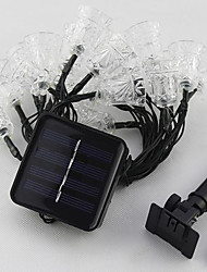 1PC 6M  30Led  Solar Energy String Light For Holiday Party Wedding Led Christmas Lighting