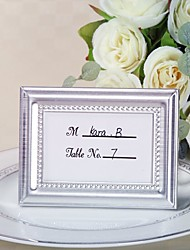 4 x 3 inch, 20th Wedding Anniversary Mini Photo Holder Favor / Place Card Holder Party Favors
