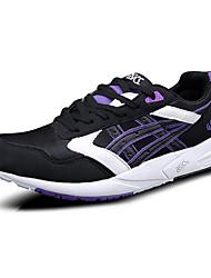 Sneakers Men's Anti-Shake/Damping Cushioning Wearproof Outdoor Low-Top Real Leather EVA Running/Jogging