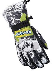 Winter Gloves / Sports Gloves Unisex Keep Warm / Waterproof / Windproof / Snowproof / High Elasticity / Breathable / Fleece Lining