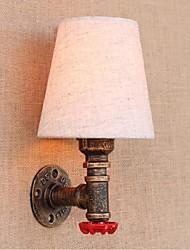ac 220v-240v 3w e27 bg081 rustique / lodge fonctionnalité de laiton pour mur de lumière ampoule includedambient appliques murale