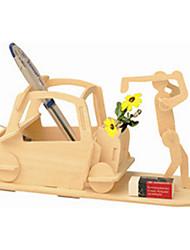 Puzzles Holzpuzzle Bausteine DIY Spielzeug Golf 1 Holz Elfenbein