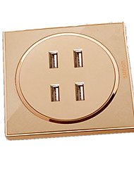 B12-028 Intelligent Four Usb Charging Socket Panel