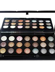 21 Palette de Fard à Paupières Lueur Fard à paupières palette Crème Set Maquillage Quotidien