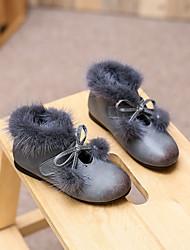 Girl's Boots Comfort Microfibre Casual Black / Brown / Gray
