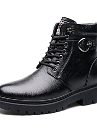 Men's Boots Amir New Style/Leather Casual Low Heel/Wor Shoes / Lace-up Black/Hot Sales