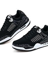 Femme-Sport-Bleu / Vert / Noir et blanc-Talon Plat-Confort-Chaussures d'Athlétisme-Synthétique