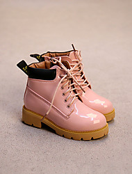 Girl's Boots Others PU Casual Black / Pink
