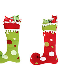 1PC New Year High Quality Merry Christmas Gifts High Integration Boots Decorations Christmas Stockings Christmas Crafts