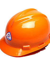 Construction Site Safety Helmet  V-shaped Pe Straight Safety Helmet