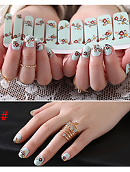 Paragraph Nail Stickers All In The New Year