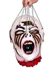 1pc coeur personne crânienne tête de halloween balle pour la décoration de fête