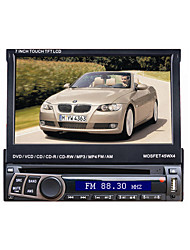 7 1Din LCD Touch Screen Digital Panel Car DVD Player Support Ipod.Bluetooth.Stereo Radio.GPS.Touch Screen
