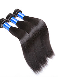 Indian Silk Straight Hair Extensions 8A Unprocessed IndianStraight Virgin Hair 3 Bundles Straight Hair Weaves