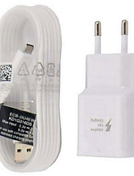 Fast Charge / Charger Kit Home Charger EU Plug / US Plug 1 USB Port with Cable For Android Cellphone(5V , 2A)