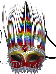 1pc маски принцессы партии для Хэллоуина костюм партии случайный цвет