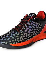 Masculino-Tênis-Conforto-Rasteiro-Roxo Vermelho-Sintético-Ar-Livre Casual Para Esporte