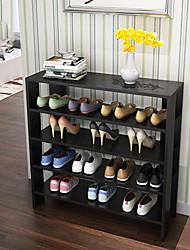 Дерево-В любом месте-Полка / крючки для обуви(Черный / Коричневый / Белый / Серо-коричневый)