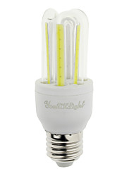 7W E26/E27 LED Mais-Birnen T 6 COB 600 lm Kühles Weiß Dekorativ V 1 Stück