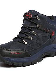 Для мужчин Ботинки Удобная обувь Полиуретан Весна Осень Атлетический Для пешеходного туризма Удобная обувь Шнуровка На плоской подошве