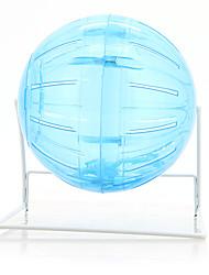 Грызуны Колесо для упражнений Переносной Пластик Синий
