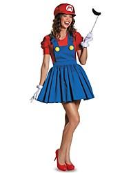 Cosplay Kostüme Rot / Grün Terylen Cosplay Accessoires Halloween / Karneval