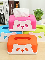 Tissue Box Cartoon Lovely Dining Table Release Tray (Random Colours)