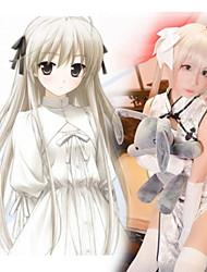 Milk Blonde Long Straight Japanese Anime Cosplay Fashion Lolita Wigs Heat Resistant