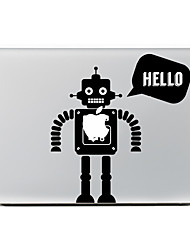 Robot Decorative Skin Sticker for MacBook Air/Pro/Pro with Retina