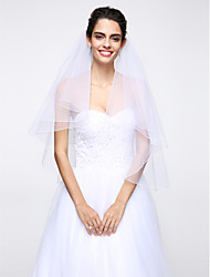 Wedding Veil Two-tier Elbow Veils Net