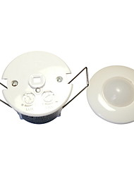 Mini Recessed PIR Infrared Motion Sensor Detector Switch(AC100-240V)