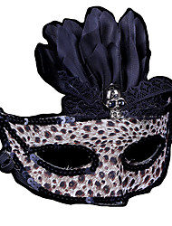 1pc Leopard-Maske für Halloween-Kostüm-Party