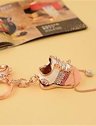 amantes anel chave do carro sapatos de metal pingente pequeno criativo