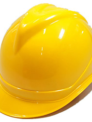 Construction Of ABS Safety Helmet (Yellow)