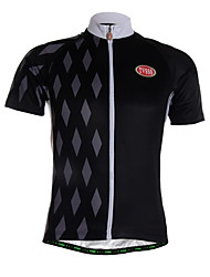 Sports Cycling Jersey Men's Short Sleeve Breathable / Quick Dry /Ultra Light Fabric / Soft / Comfortable Bike Jersey